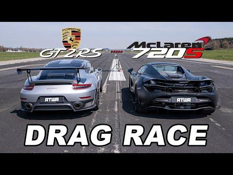 MCLAREN 720S vs. PORSCHE GT2 RS | DRAG RACE | Daniel Abt